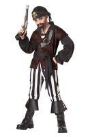Swashbuckler Pirate Buccaneer Child Costume Halloween Boys Kids Dress- Small 6-8