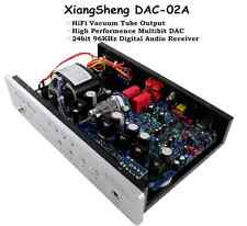 XiangSheng DAC-02A USB DAC Valve Tube Output Audio Decoder Headphone Amplifier
