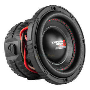 "6.5"" Dual 2 Ohm High Performance Subwoofer 400 Watts Max Cerwin Vega VMAX65D2"