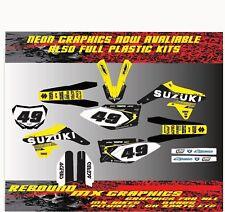 Suzuki RM H. 65 85 125 250 450 kit de gráficos calcomanías Pegatina Kit Cilindro
