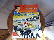 BD MICHEL VAILLANT DEFI AU PAUL RICARD GRATON NO PASTIS 51 RICARD