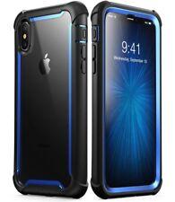 Smartphone Apple iPhone X funda rígida doble capa construido en cubierta protector de pantalla anti caída