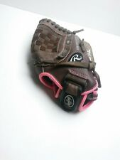 "Rawlings 11"" Youth Softball Brown Pink FP11T Glove Mit"