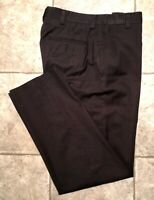 KENNETH COLE REACTION * Mens Black Casual Pants * Size 32 x 32 * EXCELLENT