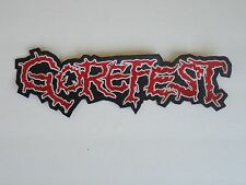 GOREFEST EMBROIDERED BACK PATCH