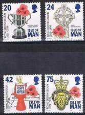 Isle of Man 1996 postfris MNH 684-687 - Brits legioen 75 jaar