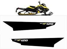 TUNNEL GRAPHICS WRAP SKI DOO BRP REV XP XM XR XS 120 129 137 154 163 rev yellow