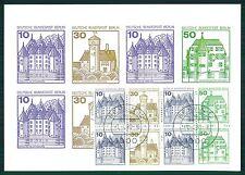 Berlín Mk H-hoja 19 castillos cerraduras Castle chateau maximum card mc cm m594