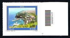 ITALIA FRANCOBOLLO TURISTICA USTICA CODICE A BARRE 1477 - 2012 nuovo**(BI11.054)