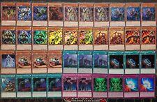 Yu-Gi-Oh Elementsäbel-Deck KOMPLETT Elementarherrscher Moulinglacia Palast der