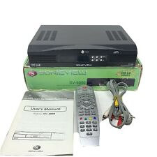 Sonicview SV-4000 FTA Digital Satellite Receiver with Box & Remote