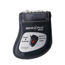 Emjoi Micro Pedi Man Unit W/ Replacement Roller 4Pk Coarse Micro Mineral Rollers