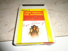 """High Energy"" The Supremes Cassetta Stereo 8 Motown"