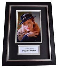 Pauline Moran Signed A4 Framed Autograph Photo Display Poirot TV AFTAL COA