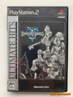 KINGDOM HEARTS Ultimate Hits Square Enix Sony Playstation2 PS2 JAPAN