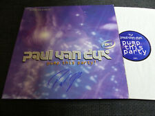 """PAUL VAN DYK signed autographed """"PUMP THIS PARTY!"""" Vinyl Record InPerson LOOK"""