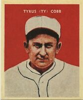 1932 TY COBB U.S. CARAMEL CO. PHILADELPHIA ATHLETICS REPRINT MINI CARD MINT #14