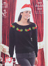 Ladies Double Knitting Pattern King Cole Womens & Mens Christmas Sweater 3809