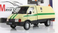 "GAZ 3302 ""Ratnik"" AutoLegends USSR. Diecast Metal Scale model 1:43. Deagostini"