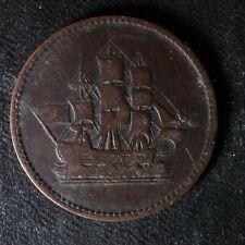 PE-10-8 Ships Colonies & Commerce token PEI Canada Lees SCC-8 Breton 997