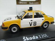ABREX, SKODA 120L CZECH POLICIE VB, 1:43 Scale CLASSIC POLICE CAR