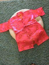 Korean Traditional Kimono Sleeve Floral Tunic For Kids and Women
