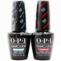OPI GelColor Soak Off - GC 011 Base Coat with Benefits GC 013 0.5oz Choose Any