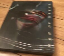 Man of Steel (Blu-ray + DVD) Limited Edition Steelbook with Lenticular Flip