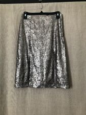 NWT For Sienna Fully Sequined Skirt With Two Front Slits Size Medium