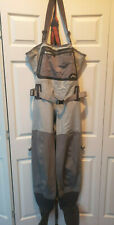 Simms G3 Guide Stockingfoot Waders Fly Fishing- Worn 5 Time- Men's - Cinder -XLS