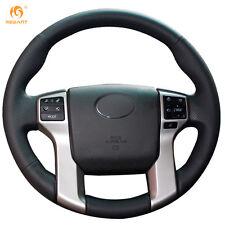 Leather Steering wheel Cover for Toyota Land Cruiser Prado Tundra 4Runner #0450
