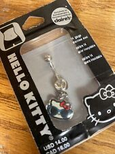 Ring 14G Stainless Steel New Hello Kitty Belly Ring Navel