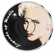 2019 Solomon Legends of Music Madonna 1 oz Silver Sid Maurer $5 Proof SKU54727
