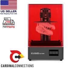 ELEGOO Saturn MSLA 3D Printer UV Photocuring LCD Resin 3D Printer 4K Ships ASAP
