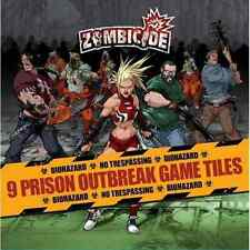 Zombicide: 9 Prison Outbreak Game Tiles (New)