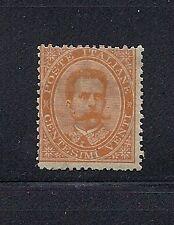 ITALY 1879 20c ORANGE (SCOTT 47) *RARE* F MH *read description*