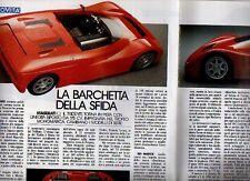 Z26 Ritaglio Clipping 1992 Maserati Barchetta