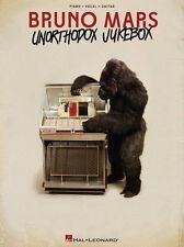 Bruno Mars Unorthodox Jukebox Locked out of Heaven Piano Guitar PVG Music Book