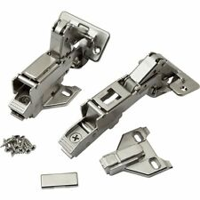 New Pair (2) Blum 170 Degree Kitchen Cabinet Face Frame Hinges Hardware