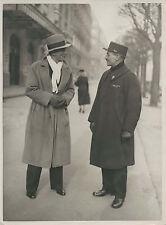 Boxe - Georges Carpentier - Paris vers 1930