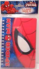 Journal 3D Marvel SPIDER-MAN Children's Diary Notebook Agenda Spiderman