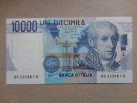 Banconota da 10.000 lire FDS Volta