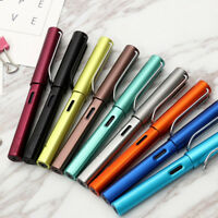 HOT Aluminum Alloy WING SUNG 6359 Fountain Pen Extra Fine Nib 0.38mm 7Colors
