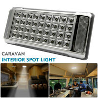 36 LED Interior Ceiling Cabin Spot Lights For Caravan Camper Boat Light UK 12V