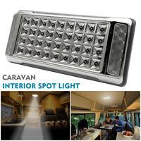 36 LED Interior Ceiling Cabin Spot Lights For Caravan Camper Boat Light UK 12V