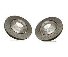 For Porsche 911 Turbo S Set of Front Left & Right Brake Discs Rotors OE Supplier