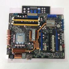 ASUS P5N-T DELUXE LGA775 Socket Motherboard + Intel Core 2 Extreme + IO Plate