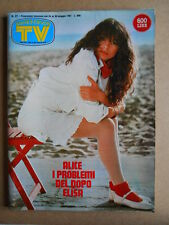 TV Sorrisi e Canzoni n°21 1981 Alice Bissi Tommy's Angels RON  [G589]