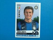 Figurine Calciatori Panini 2012-13 2013 n.189 Javier Zanetti Inter
