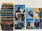 GODZILLA Toho 1970s Vintage Japanese Cards x81 **FIRST PRIZE Red Overprint** x2